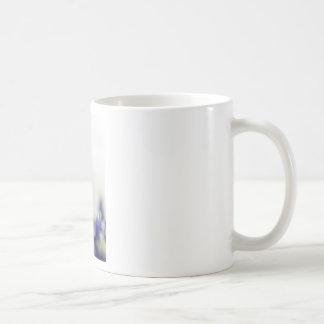 bluebonnet blue basic white mug