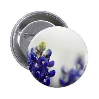 bluebonnet blue pinback button