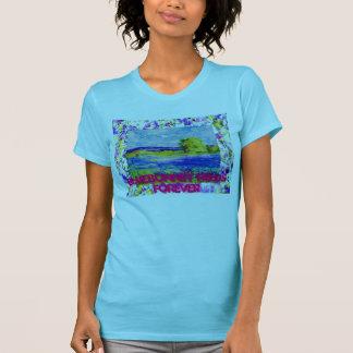 bluebonnet fields forever t-shirts
