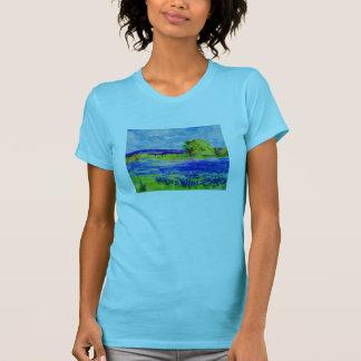 bluebonnet fields t-shirt