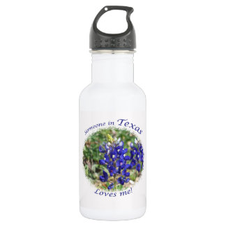 "Bluebonnet ""Someone in Texas Loves Me!"" Bottle"