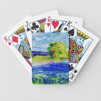 Bluebonnet  Wildflowers Card Decks