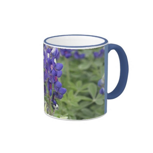 bluebonnet wrap mug