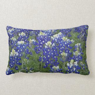 Bluebonnets Field Texas State Flower Lumbar Cushion