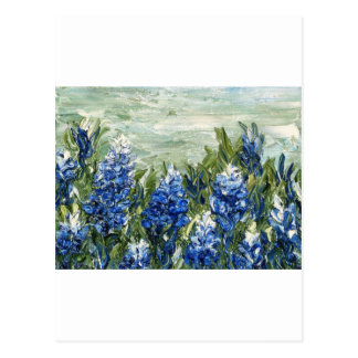 Bluebonnets Postcard