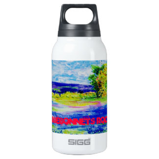 Bluebonnets Rock 0.3 Litre Insulated SIGG Thermos Water Bottle