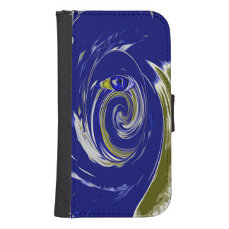 blueEyes Samsung S4 Wallet Case