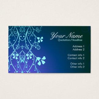 blueFlorali Business Card