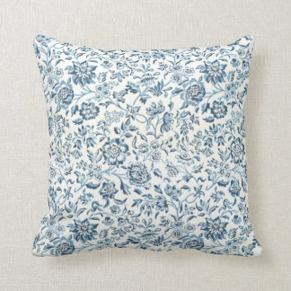 BlueFlower Pillow