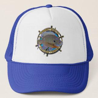 Bluegill fishing legend trucker hat