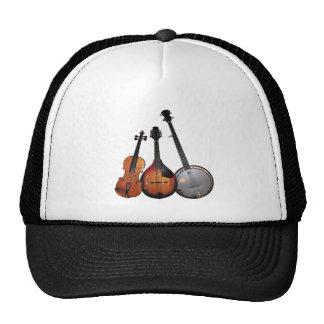 Bluegrass Band Cartoon Cap
