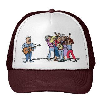 Bluegrass Banjo Humor Cap