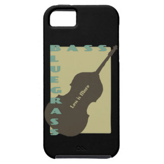 Bluegrass Bass: Less is More iPhone 5 Covers