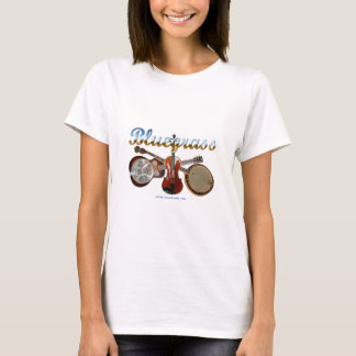 BlueGrass Dobro, Banjo and Fiddle T-Shirt