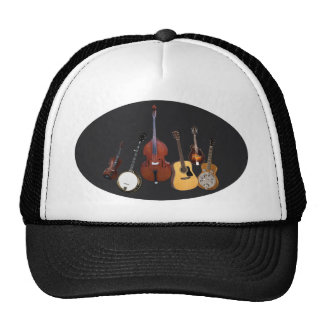 BLUEGRASS INSTRUMENTS-HAT CAP