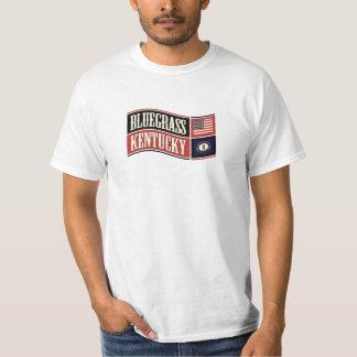 Bluegrass Kentucky Wave Flag T-Shirt