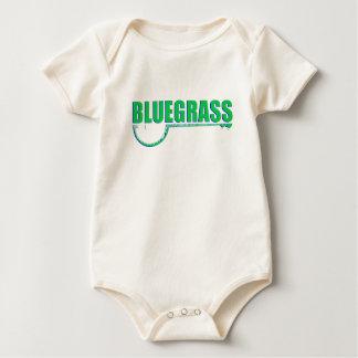 Bluegrass Music Baby Bodysuit