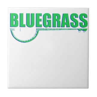 Bluegrass Music Ceramic Tile