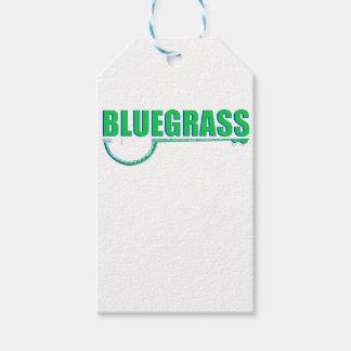 Bluegrass Music Gift Tags
