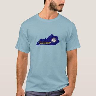Bluegrass Music Kentucky Map T-Shirt