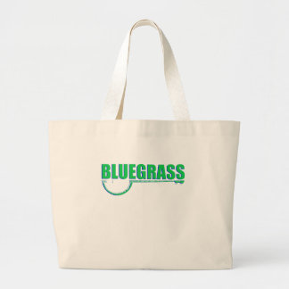 Bluegrass Music Large Tote Bag