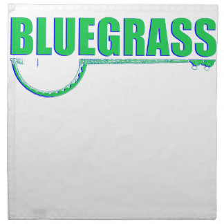 Bluegrass Music Napkin
