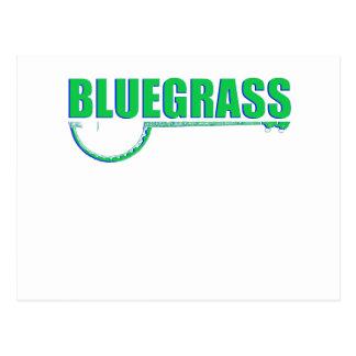 Bluegrass Music Postcard