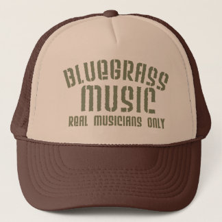 Bluegrass Music Trucker Hat