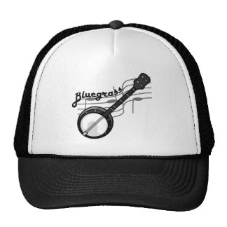 Bluegrass music with banjo hats