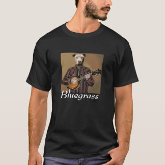 """Bluegrass"" -Pitbull with mandolin- T~Shirt T-Shirt"