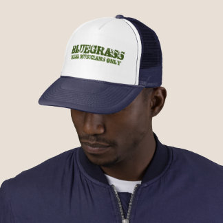 Bluegrass Real Musicians Only Cap