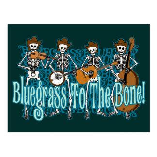 Bluegrass To The Bone! Postcard