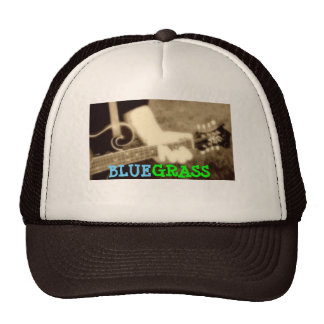"""BLUEGRASS"" -Trucker Hat"