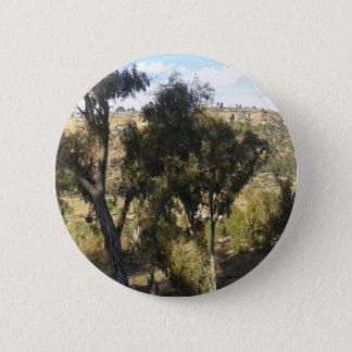 Bluegum Trees 6 Cm Round Badge