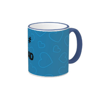 bluehearts1, 1#, DAD Ringer Coffee Mug