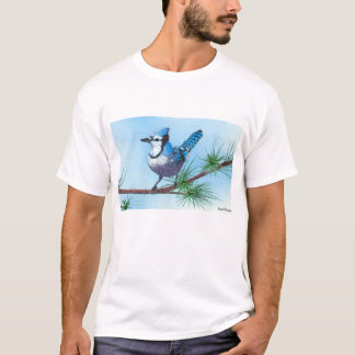Bluejay in the pines T-Shirt