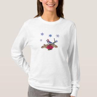 Bluejay Santa T-Shirt