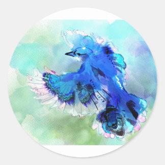 BlueJay Swaylrg Classic Round Sticker