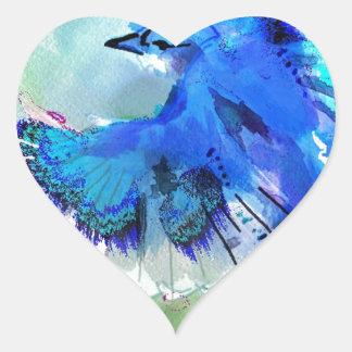 BlueJay Swaylrg Heart Sticker