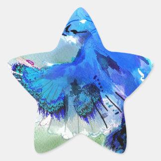 BlueJay Swaylrg Star Sticker