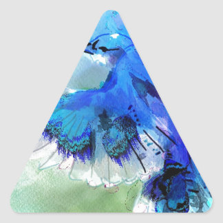 BlueJay Swaylrg Triangle Sticker