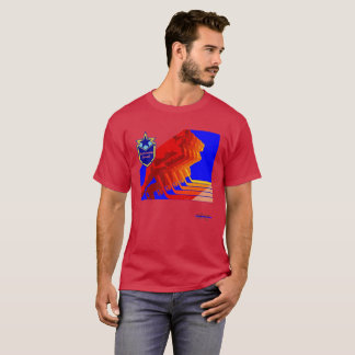 Blueliner Hockey Red Army Hockey Dark Tshirt