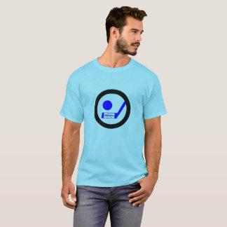 Blueliner Hockey Retro Tshirt