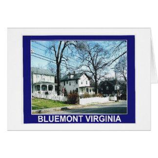 BLUEMONT VIRGINIA CARD