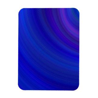 Blueness Rectangular Photo Magnet