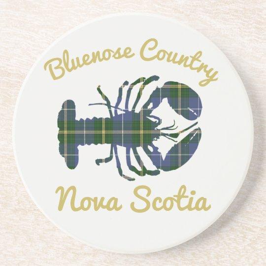 Bluenose Country N.S. Tartan Lobster coaster