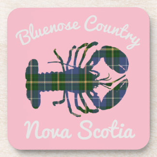 Bluenose Country N.S. Tartan Lobster coaster set