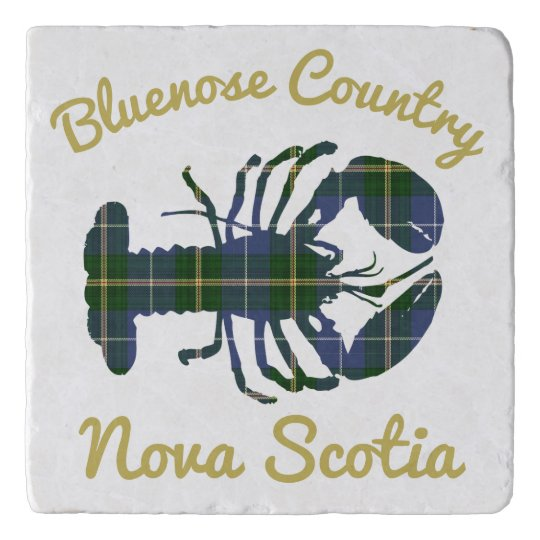 Bluenose Country N.S. Tartan Lobster   trivet