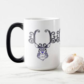 Bluenoser Blue nose Reindeer deer  coffee cup