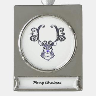 Bluenoser Blue nose Reindeer deer tree ornament